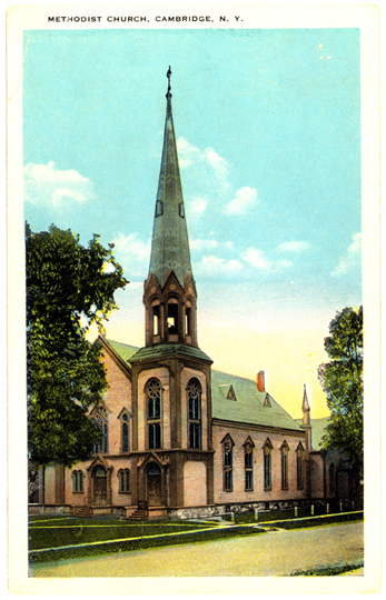 Presbyterian Church ~ Cambridge, NY ~ 1930's