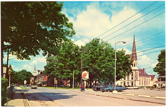 The Presbyterian Church ~ Cambridge, NY ~ 1960s