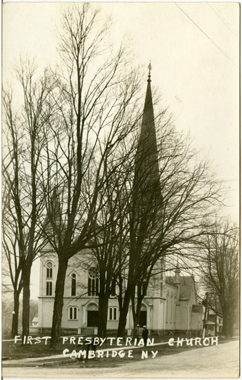 First Presbyterian Church ~ Cambridge, NY ~ 1920s