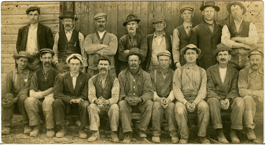Slate Workers ~ Granville NY ~ 1910's