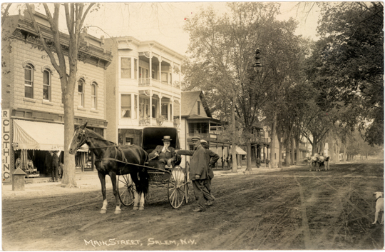 Salem New York ~ Main Street ~ 1910 Photograph