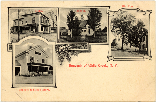 Souvenir of White Creek NY 1908