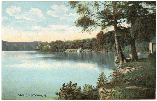 Lake View ~ Lake St. Catherine, Vermont ~ 1910's