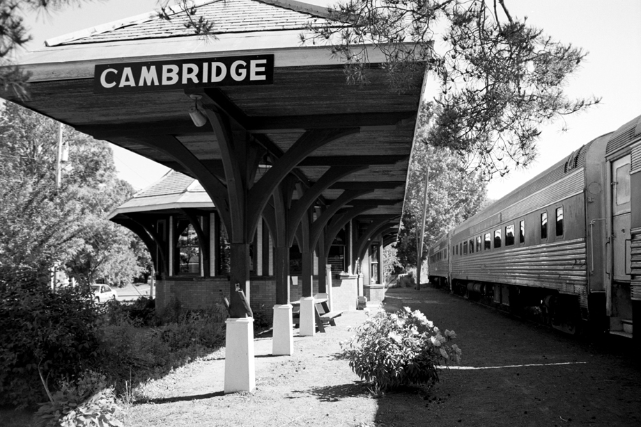 Cambridge NY ~ Train Depot ~ 2001 ~ CP013001 ~ Richard Clayton Photography ~ Cambridge Photo