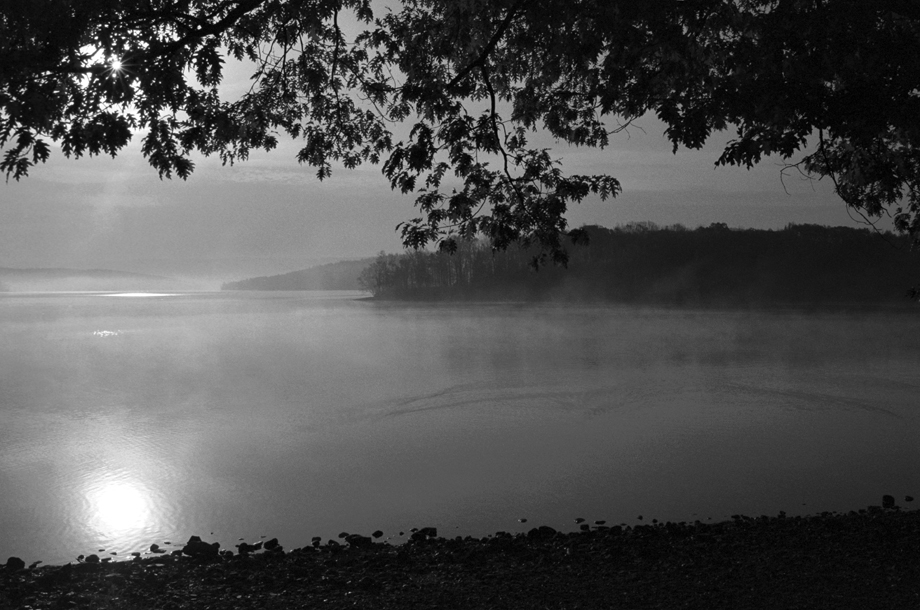 Valley Falls NY ~ Sunrise ~ Tomhannock Reservoir ~ 2001 ~ CP013004 ~ Richard Clayton Photography ~ Cambridge Photo