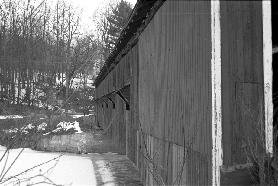 Buskirk NY ~ Buskirk Covered Bridge ~ 2001 ~ CP013016 ~ Richard Clayton Photography ~ Cambridge Photo