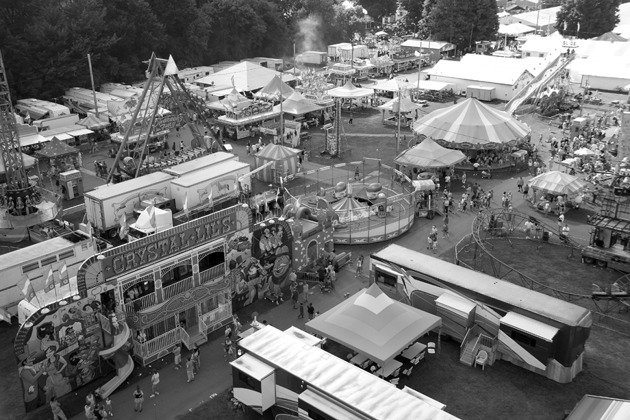 Schaghticoke Fair NY ~ Crystal Lil's ~ 2005 ~ CP053028 ~ Richard Clayton Photography ~ Cambridge Photo