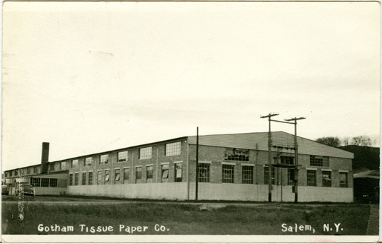 Salem NY, Other 1940s Photograph - Gotham Tissue Paper Co.  - NYSA0059 - Richard Clayton Photography - Cambridge Photo - Vintage Photographs