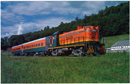 Salem NY, The Batten Kill Railroad 1970s Postcard