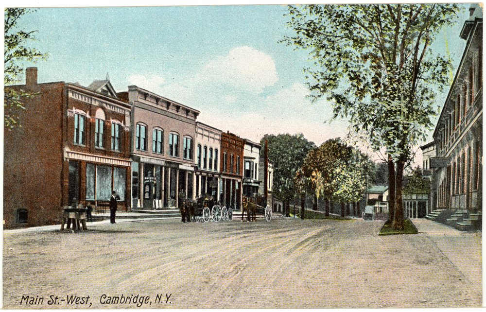 Cambridge,NY ~ West Main Street ~ 1900s