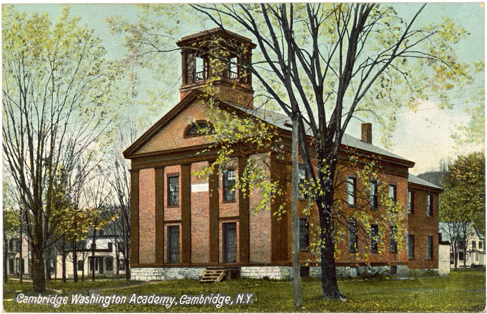 Cambridge, NY ~ Washington Academy ~1909