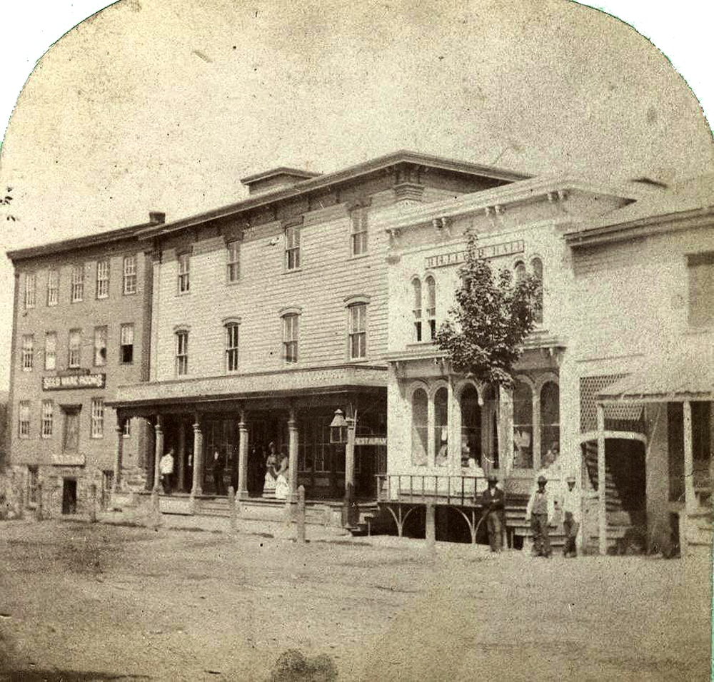 Cambridge, NY ~ East Main Street near Union House ~ 1880s