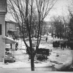 Granville,NY ~ Main Street Fire 1873 ~ The morning after