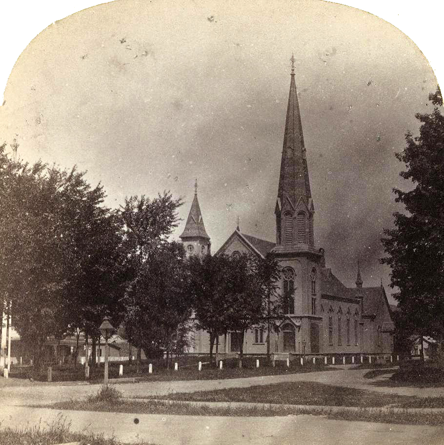 New Presbyterian Church ~ Cambridge NY ~1874