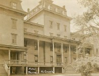 The Warren Hotel ~ North Granville, NY ~ Entrance View