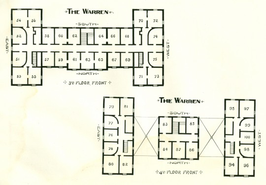 The Warren Hotel ~ North Granville, NY ~ Floor Plan 2