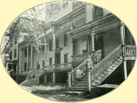 The Warren Hotel ~ North Granville, NY ~ Front Porch